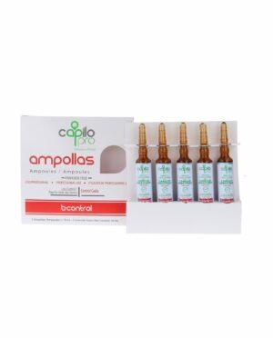 Ampollas Capilo Pro B-Control 5 x 10ml.